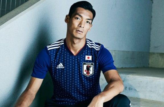 Japan 2018 World Cup adidas Home Soccer Jersey, Shirt, Football Kit, Camiseta de Futbol