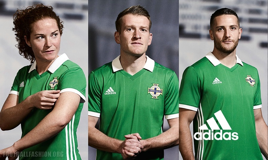 035cebf66 Northern Ireland 2018 19 adidas Home Kit – FOOTBALL FASHION.ORG