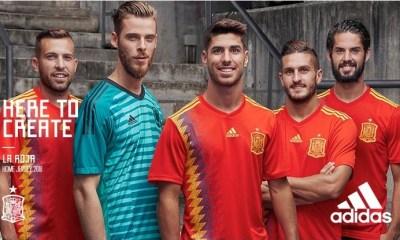 Spain 2018 World Cup adidas Home Football Kit, Soccer Jersey, Shirt, Camiseta, Equipacion, Copa Mundial