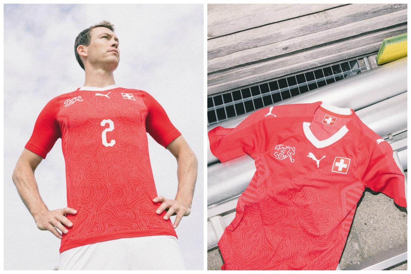 029eeacac Switzerland 2018 World Cup PUMA Home Kit - FOOTBALL FASHION.ORG