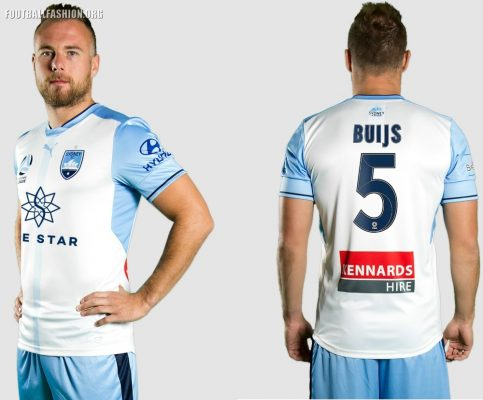 Sydney FC 2017 2018 PUMA Home, Away and Third Soccer Jersey, Football Kit, Shirt