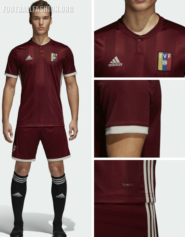 Venezuela 2018 19 adidas Home Kit – FOOTBALL FASHION.ORG c53169d4aa190