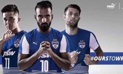 Bengaluru FC 2017 2018 PUMA Home and Away Football Kit, Soccer Jersey, Shirt