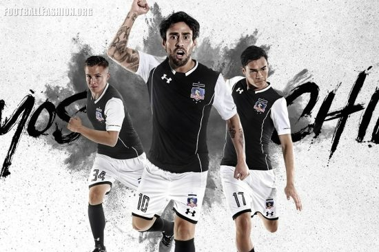 Colo-Colo 2018 Under Armour Away Football Kit, Soccer Jersey, Shirt, Camiseta de Futbol, Equipacion