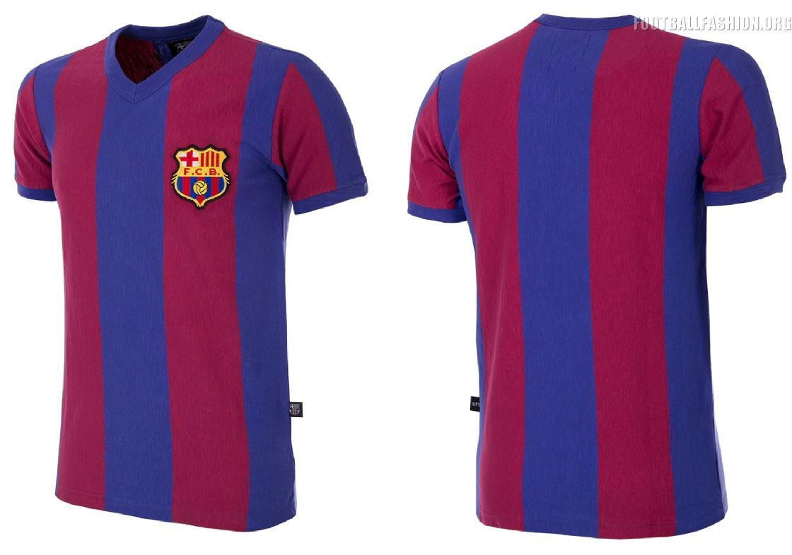 dfec87388c7 FC Barcelona x COPA 2018 Retro Kits - FOOTBALL FASHION.ORG