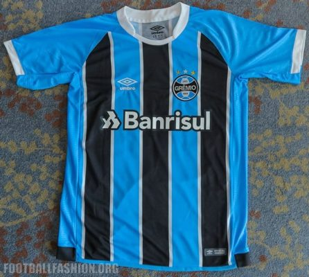 Grêmio FIFA Club World Cup 2017 Umbro Home and Away Football Kit, Soccer Jersey, Shirt, Camisa