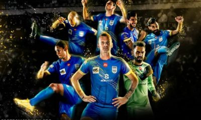 Mumbai City FC 2017 2018 Home and Away Football KIt, Soccer Jersey, Shirt