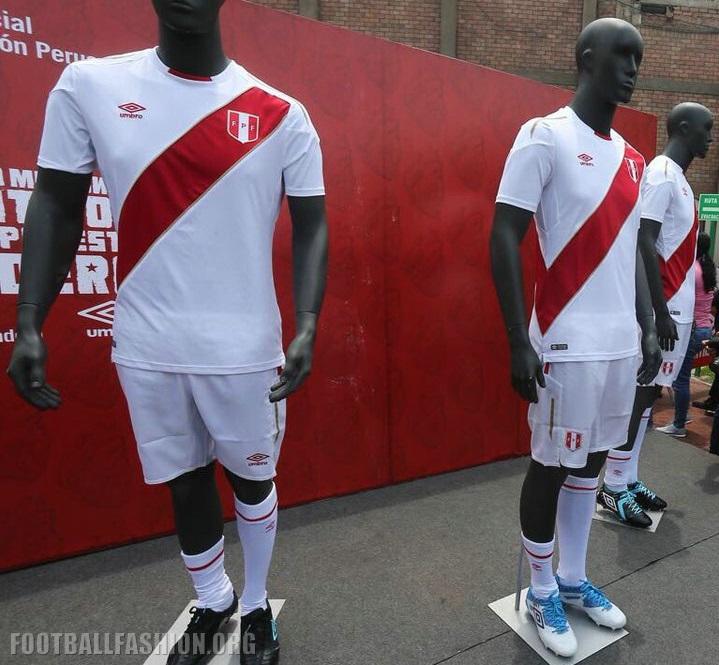 Peru 2018 World Cup Umbro Home Jersey – FOOTBALL FASHION.ORG db20281f2