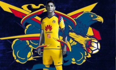 Club América 2018 Nike Yellow Third Soccer Jersey, Shirt, Football Kit, Equipacion, Camiseta Tercera, Playera, Uniforme