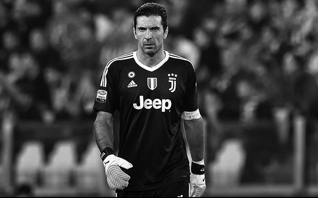 c70f850694d Juventus x Gigi Buffon 2018 adidas Black Kit - FOOTBALL FASHION.ORG