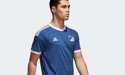 Millonarios FC 2018 adidas Home Football Kit, Soccer Jersey, Shirt, Camiseta de Futbol