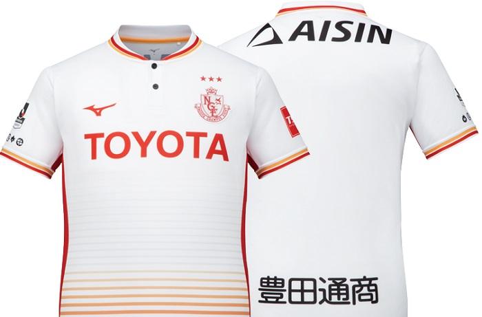 Nagoya Grampus 2018 Mizuno Away Football Kit, Soccer Jersey, Shirt