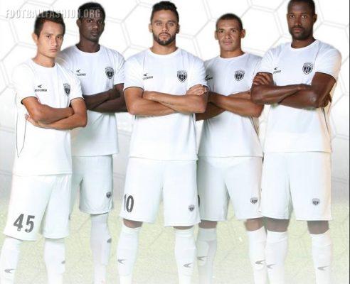 NorthEast United FC 2017 2018 Home Football Kit, Soccer Jersey, Shirt