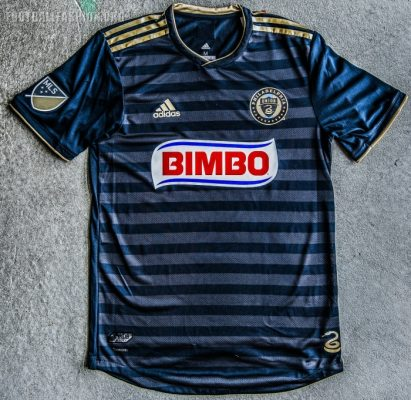 Philadelphia Union 2018 adidas Home Soccer Jersey, Football Kit, Shirt, Camiseta de Futbol
