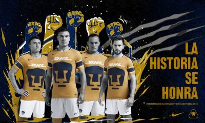 Pumas de la UNAM 2018 Nike Third Soccer Jersey, Shirt, Football Kit, Camiseta de Futbol, Playera