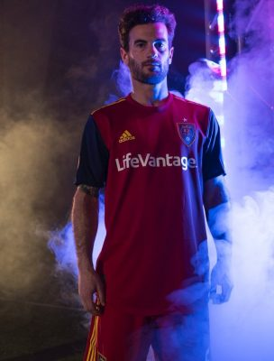 Real Salt Lake 2018 2019 adidas Home Soccer Jersey, Shirt, Football Kit, Camiseta de Futbol
