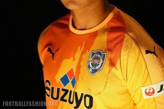 Shimizu S-Pulse 2018 PUMA Home Football Kit, Soccer Jersey, Shirt