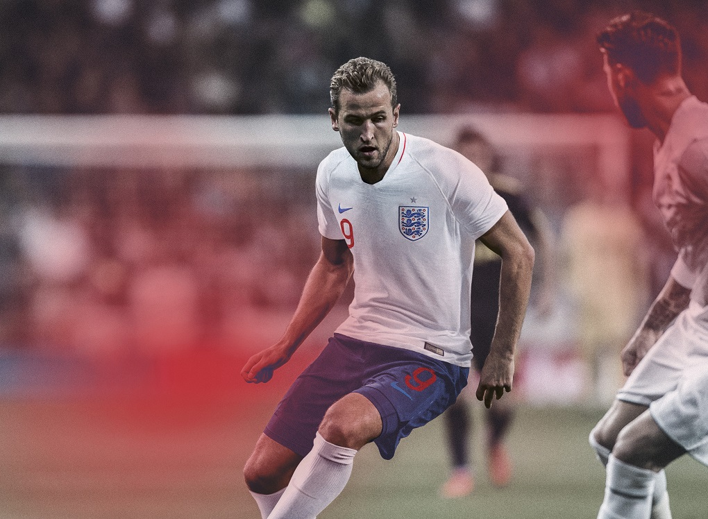 England 2018 World Cup Nike Home and Away Kits - FOOTBALL ...
