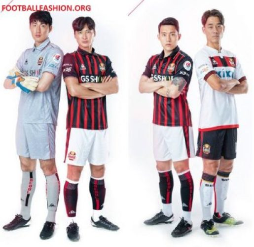 FC Seoul le coq sportif 2018 Home Football Kit, Soccer Jersey, Shirt