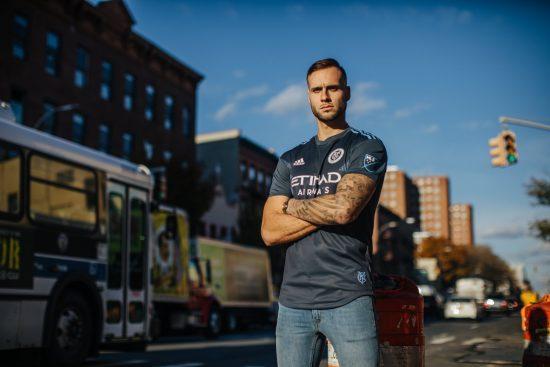 New York City FC 2018 2019 adidas Away Soccer Jersey, Football Shirt, Camiseta de Futbol