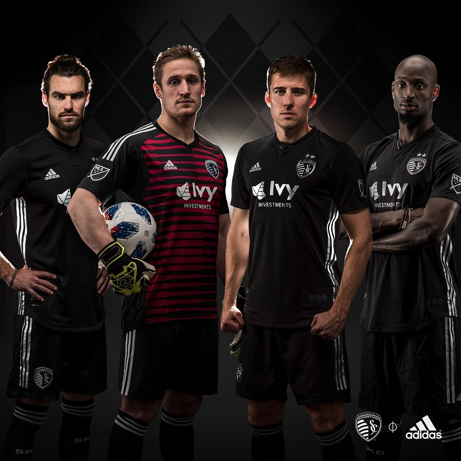 brand new 5ddc1 b4e01 Sporting Kansas City 2018 adidas Away Jersey - FOOTBALL ...
