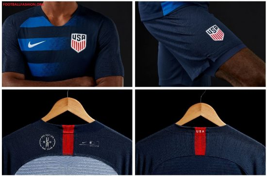 USA 2018 2019 Nike Soccer Jersey, Football Kit, Shirt, Camiseta de Futbol, Equipacion
