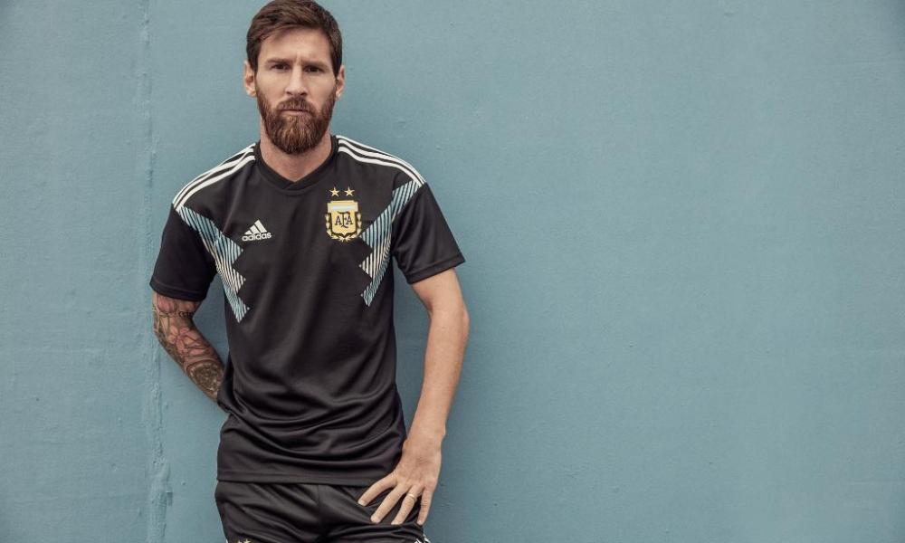 Argentina 2018 World Cup adidas Away Football Kit, Soccer Jersey, Shirt, Camiseta, Equipacion, Copa Mundial