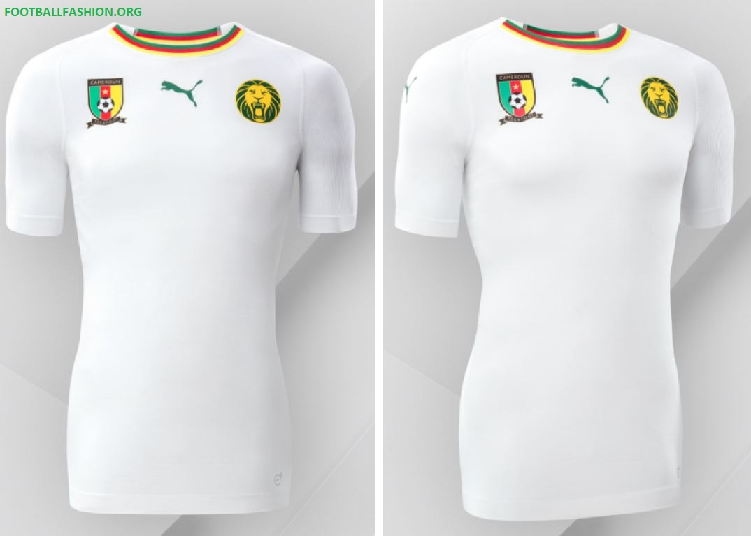 Cameroon 2018/19 PUMA Away Kit - FOOTBALL FASHION