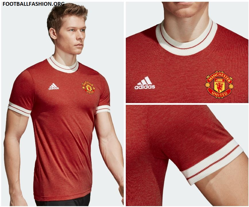 Manchester United 2018 Adidas Icon Jersey Football Fashion Org