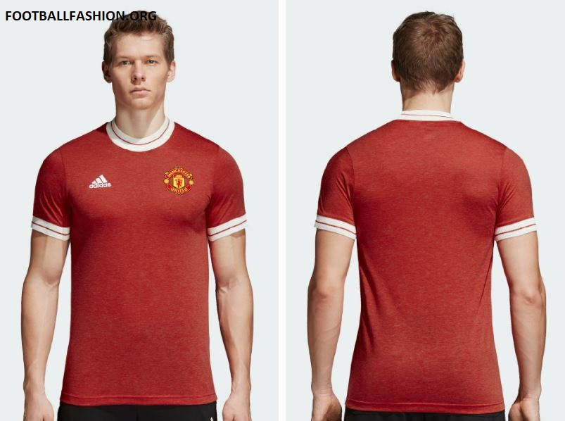 a674a467a Manchester United 2018 adidas Icon Jersey - FOOTBALL FASHION.ORG