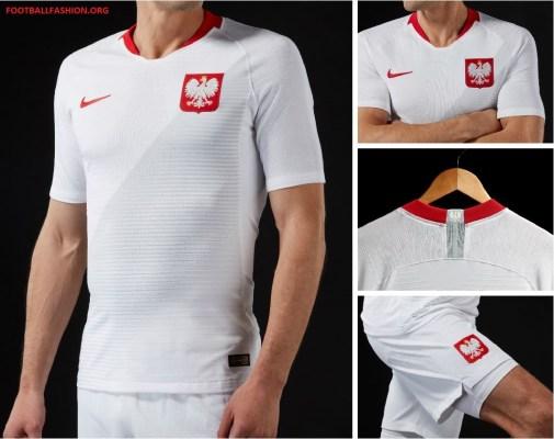 Poland World Cup 2018 Nike Home and Away Football Kit, Soccer Jersey, Stroje Polski, Polska