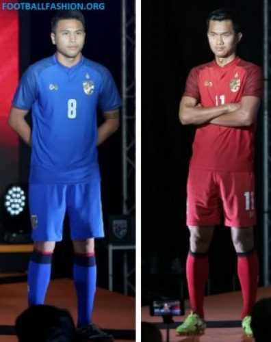 Thailand 2018 Warrix Home, Away and Third Football Kit, Soccer Jersey, Shirt