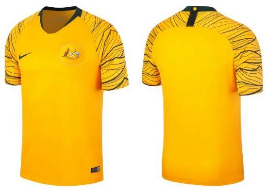 Australia 2018 World Cup Nike Home and Away Football Kit, Soccer Jersey, Shirt