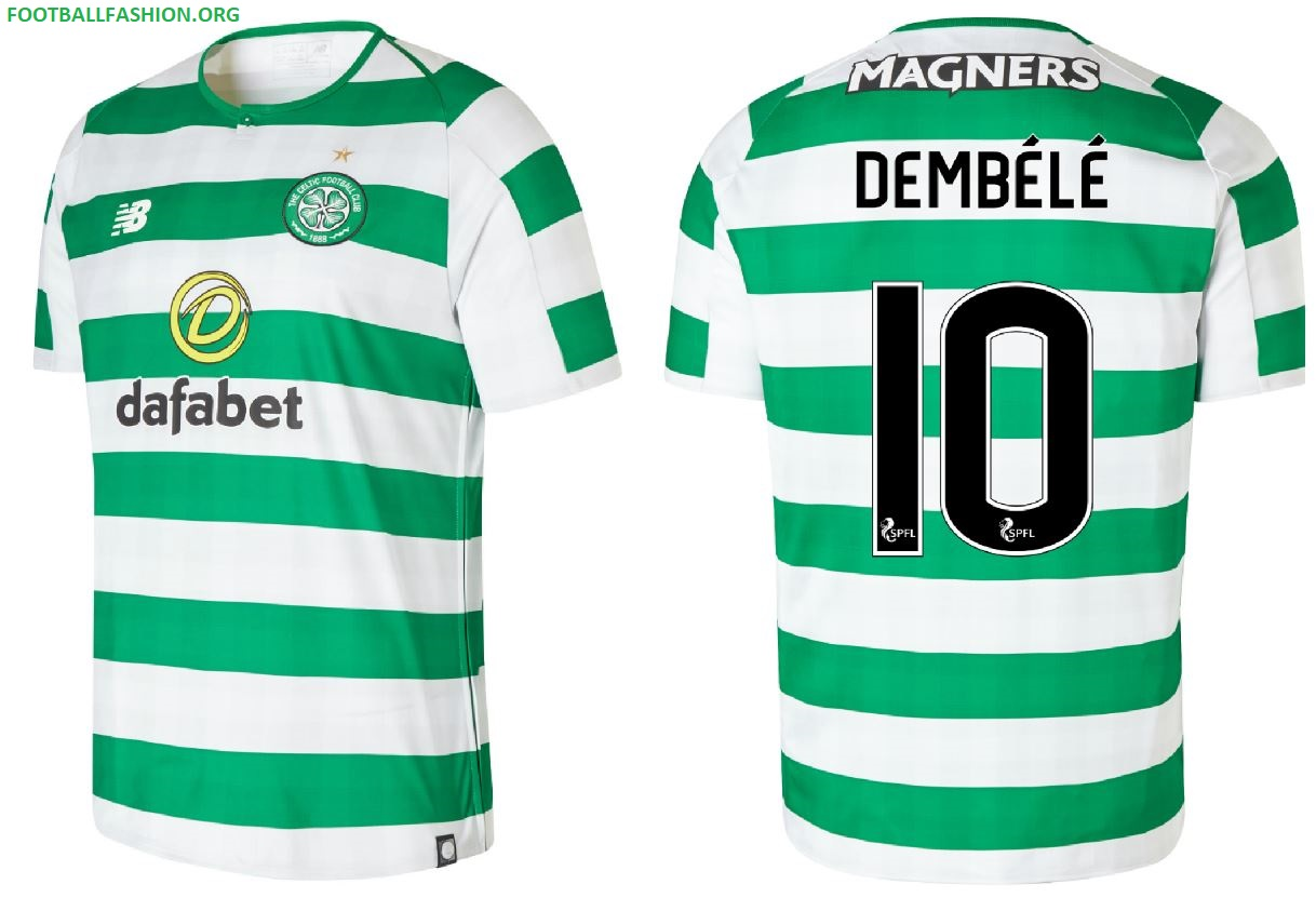 98bd291b9 Celtic FC 2018 19 New Balance Home Kit - FOOTBALL FASHION.ORG