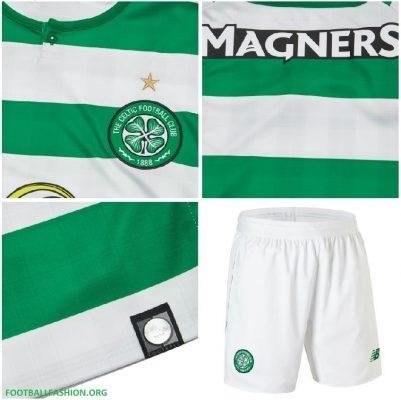Celtic Football Club 2018 2019 New Balance Home Football Kit, Soccer Jersey, Shirt