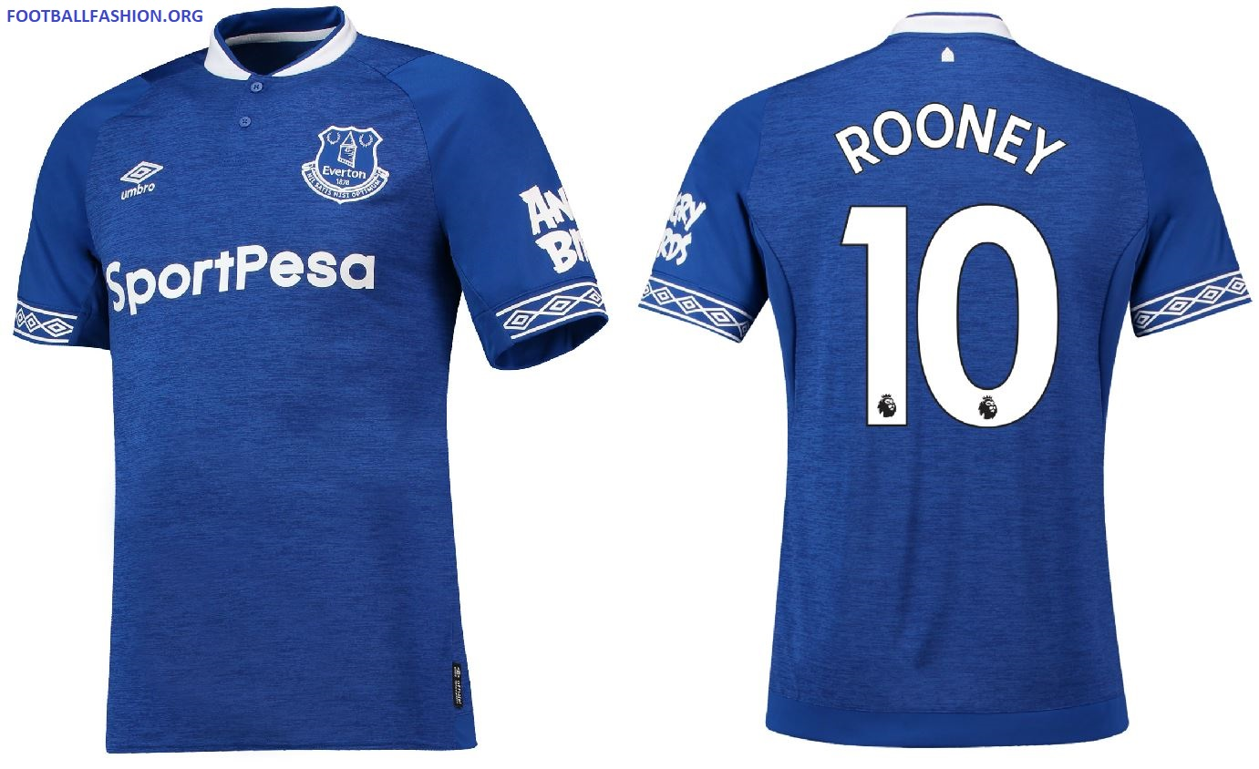 874640cb331 Everton FC 2018 19 Umbro Home Kit - FOOTBALL FASHION.ORG