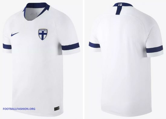 Finland 2018 2019 Nike Home and Away Soccer Jersey, Football Kit, Shirt, Pelipaita, Suomi Paita