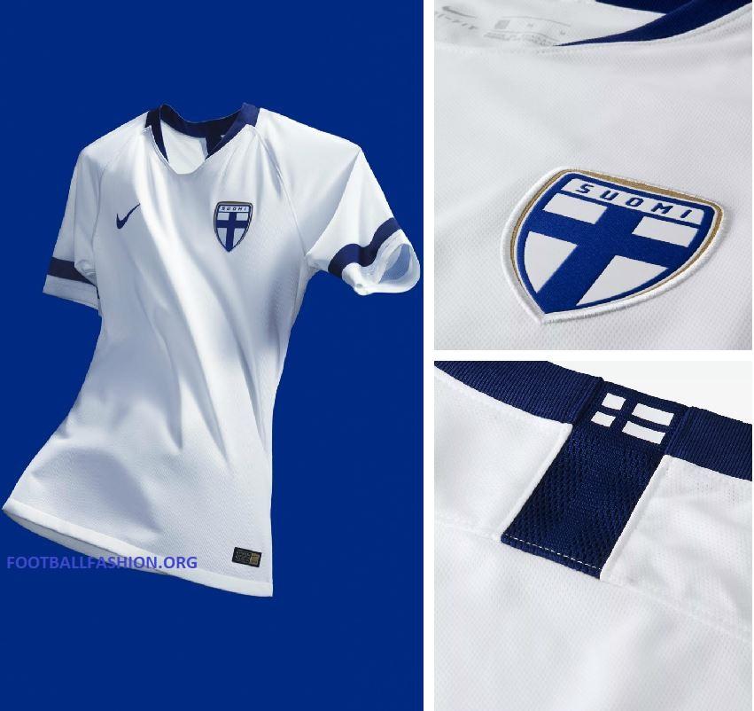 8c955faa5 Finland 2018 19 Nike Home and Away Kits – FOOTBALL FASHION.ORG
