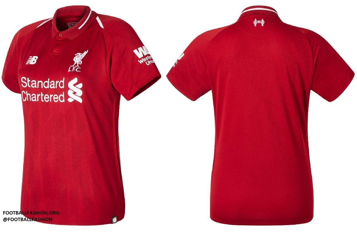 851093c1364 Liverpool FC 2018 19 New Balance Home Kit - FOOTBALL FASHION.ORG