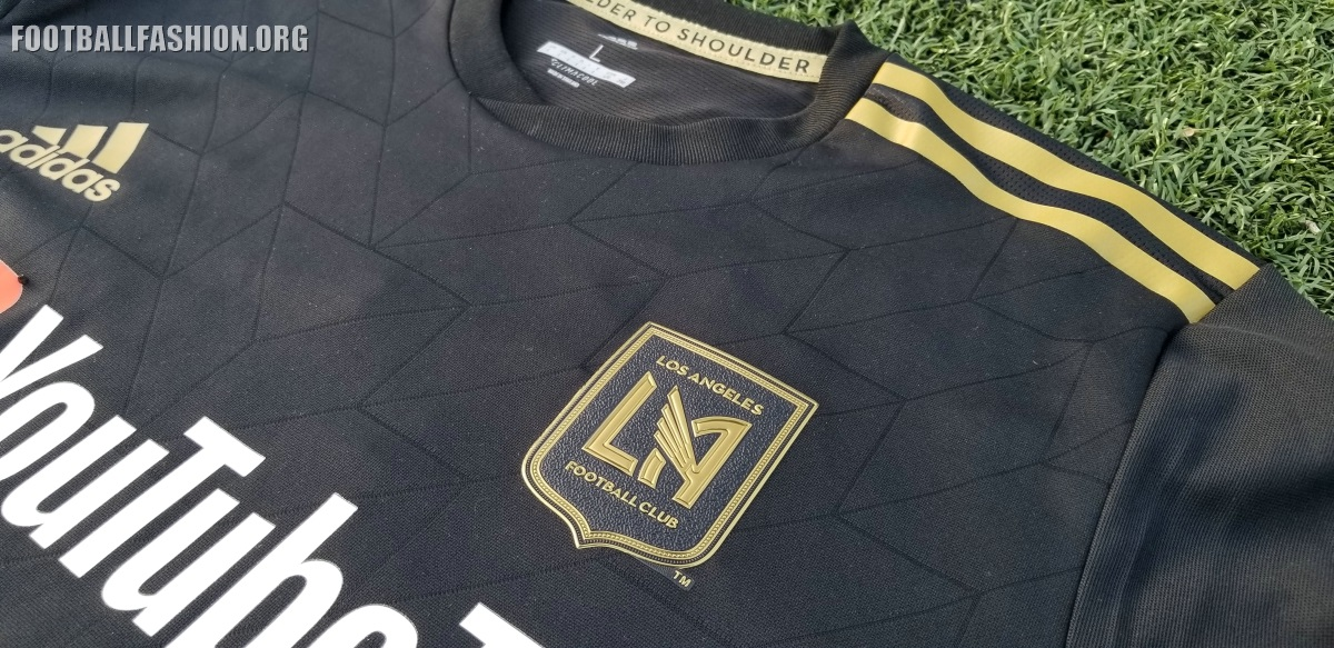 Up-Close  Los Angeles FC 2018 adidas Home Jersey – FOOTBALL FASHION.ORG d96415c49