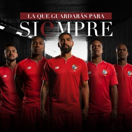 Panamá 2018 World Cup New Balance Home and Away Soccer Jersey, Shirt, Football Kit, Camiseta de Copa Mundial Rusia, Equipacion