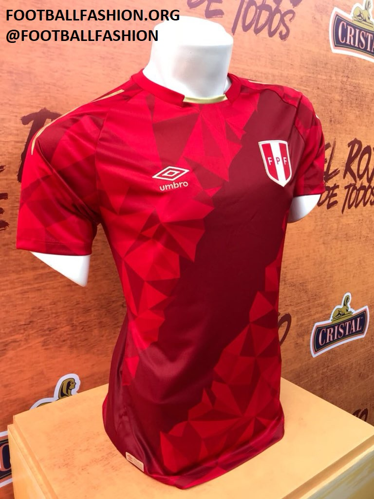 kits, numbers, fonts REQUESTS - Page 3 Peru-2018-world-cup-umbro-third-kit-1