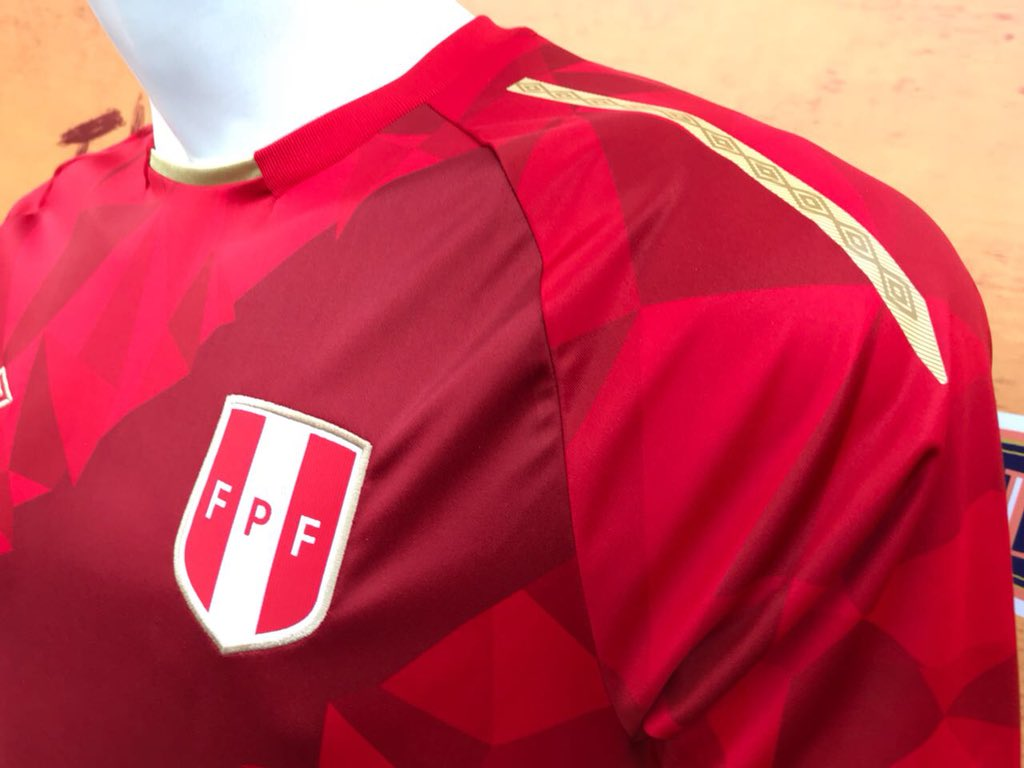 9b64460660b Peru 2018 World Cup Umbro Third Kit - FOOTBALL FASHION.ORG
