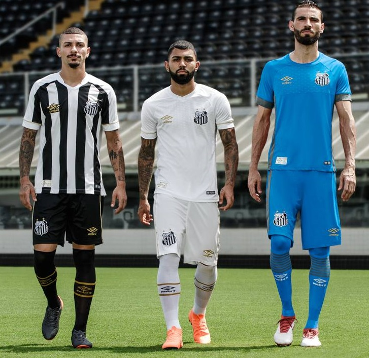 Santos FC 2018 19 Umbro Home and Away Kits – FOOTBALL FASHION.ORG 9cd8b6dc1
