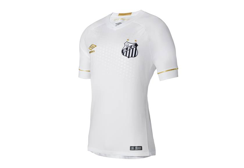 9fdbad676a5 The Santos FC 2018/19 Umbro kits will be available in FAN and GAME  versions. The FAN model has the club and Umbro logos embroidered while the  GAME version ...