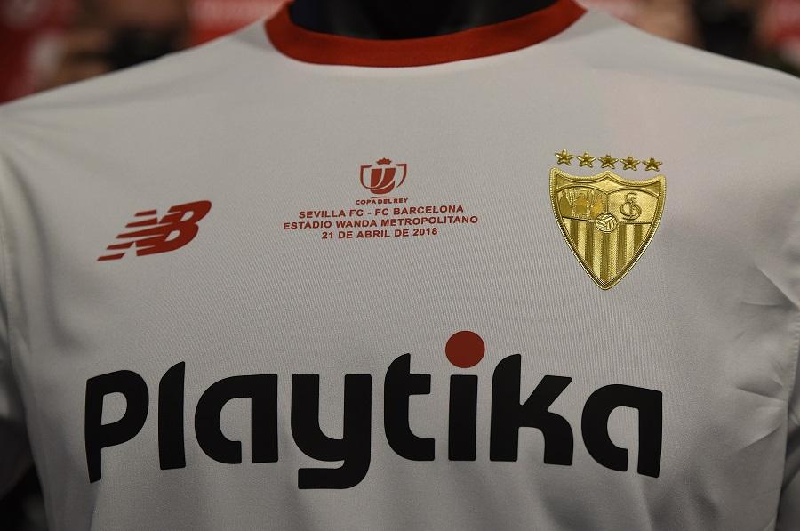 Sevilla FC 2018 Copa del Rey Final New Balance Kit – FOOTBALL ... 71e047dbd3efe