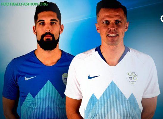Slovenia 2018 2019 Nike Home and Away Football Kit, Shirt, Soccer Jersey, Dres