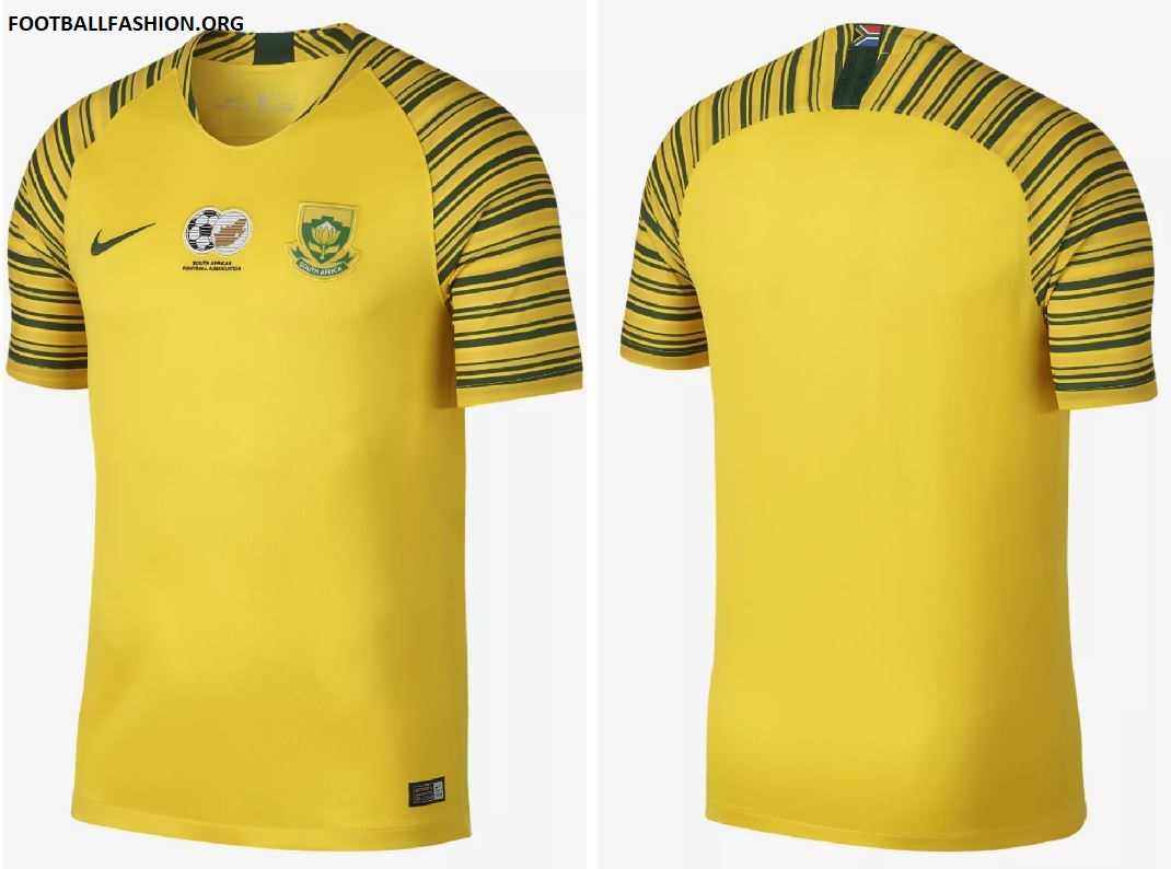 Amazon.com : South Africa Home Soccer Jersey (Large ...  South Africa Soccer Jersey