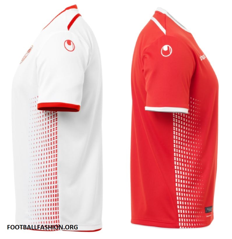 960d34292 Tunisia 2018 World Cup uhlsport Home and Away Kits – FOOTBALL ...