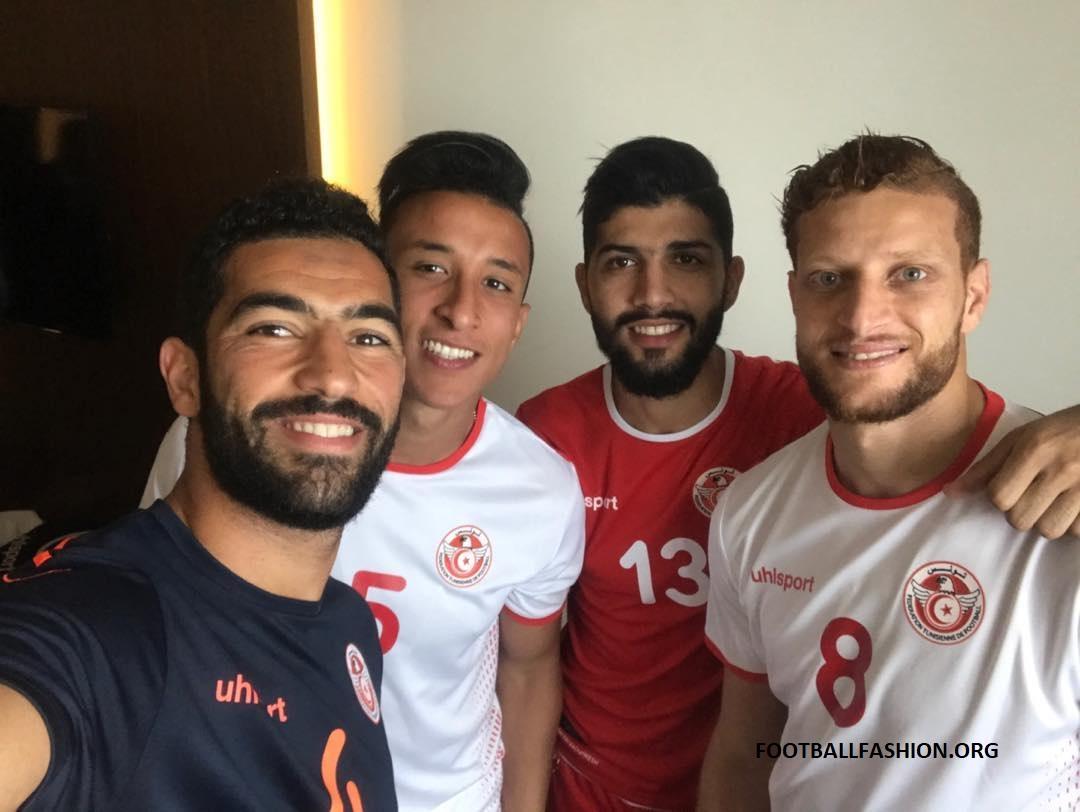 72fd20e17 Tunisia 2018 World Cup uhlsport Home and Away Kits – FOOTBALL ...